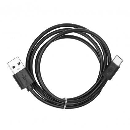 Kabel USB - microUSB TYP C/USB 2.0 - černý