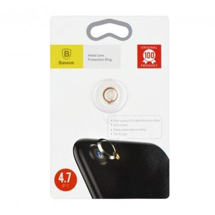 68128 krouzek zadni kamery iphone 7 zlato ruzovy