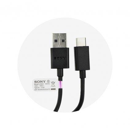 52124 1 originalni kabel usb sony ucb20 micro usb typ c bulk cerny