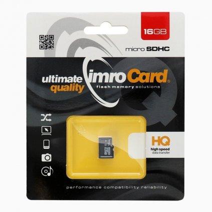 83193 pametova karta imro microsd 16 gb bez adapteru sd