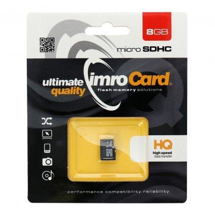 37523 1 pametova karta imro microsdhc 8gb blister