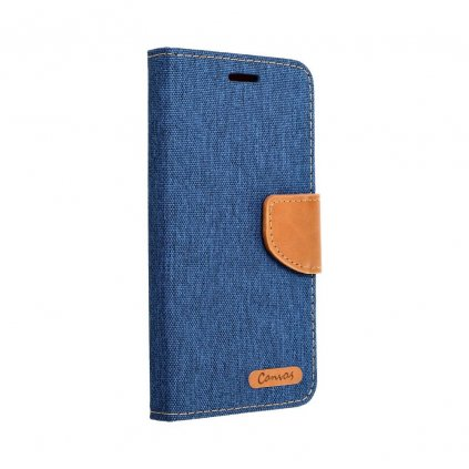 23791 pouzdro canvas mercury book apple iphone 6 6s modre