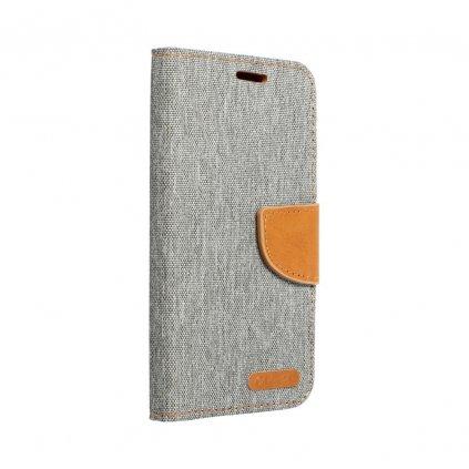 23797 pouzdro canvas mercury book apple iphone 6 6s sede
