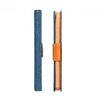 23788 pouzdro canvas mercury book apple iphone 6 6s tmave modre