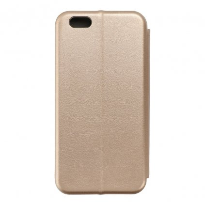 74078 pouzdro forcell book elegance apple iphone 6 zlate