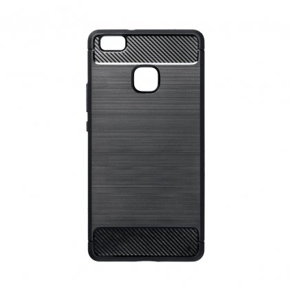 70491 2 pouzdro forcell carbon back cover pro huawei p9 lite cerne