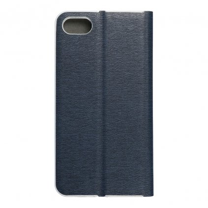 104746 3 pouzdro forcell luna silver apple iphone 7 8 navy blue