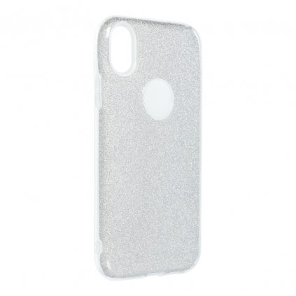 89118 3 pouzdro forcell shining apple iphone xr 6 1 stribrne