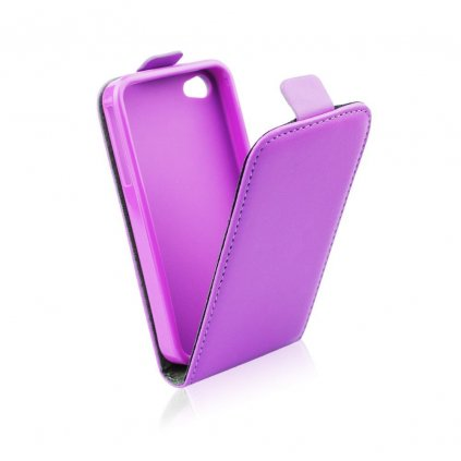 47221 pouzdro forcell slim flip flexi pro apple iphone 7 plus fialove