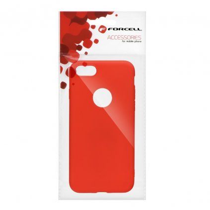 74324 pouzdro forcell soft apple iphone 6 6s cervene