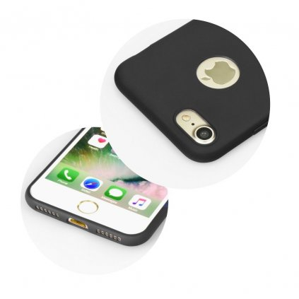103308 pouzdro forcell soft apple iphone xs 5 8 cerne
