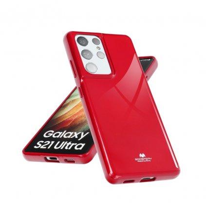 44412 pouzdro goospery mercury jelly apple iphone 7 cervene