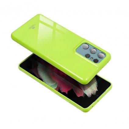 51199 pouzdro goospery mercury jelly pro apple iphone 7 plus limonka s vyrezem na logo