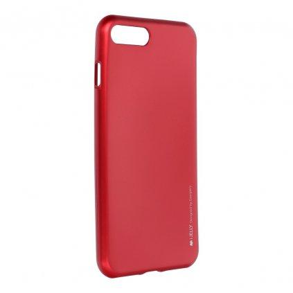 47078 2 pouzdro i jelly mercury goospery pro apple iphone 7 plus cervene