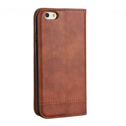 77934 2 pouzdro prestige book pro apple iphone 7 8 hnede