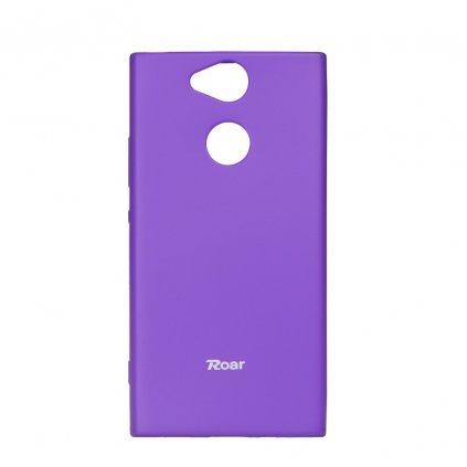 76021 1 pouzdro roar colorful jelly case sony xperia xa 2 fialove