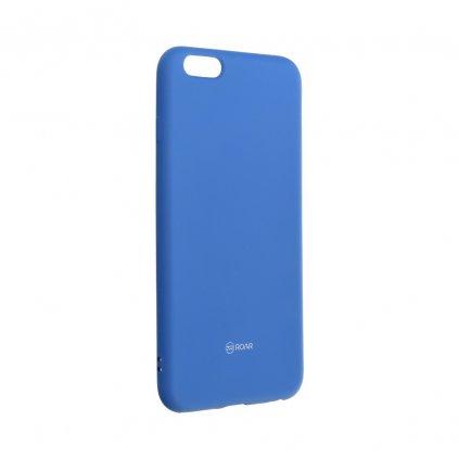 28678 1 pouzdro roar colorful jelly case apple iphone 6 6s plus modre