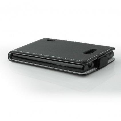 Pouzdro Slim FLEXI Samsung G530 Galaxy Grand Prime - černé
