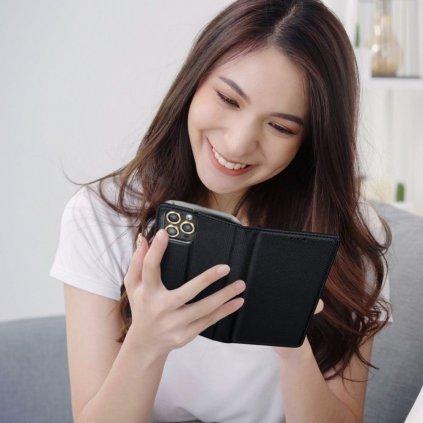21361 2 pouzdro smart case book pro apple iphone 4 4s cerne