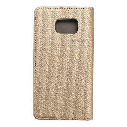 21568 2 pouzdro smart case book samsung galaxy s6 zlate