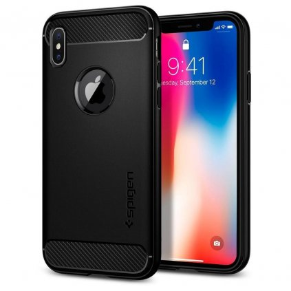 83223 4 pouzdro spigen rugged armor pro apple iphone 7 plus 8 plus cerne