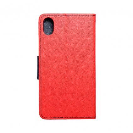 92370 pouzdro typu kniha fancy apple iphone xr cervene navy blue