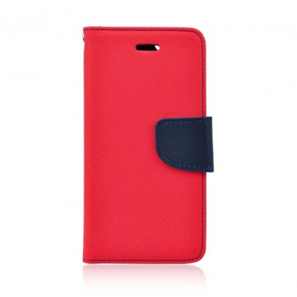 92229 pouzdro typu kniha fancy xiaomi mi8 cervene navy blue