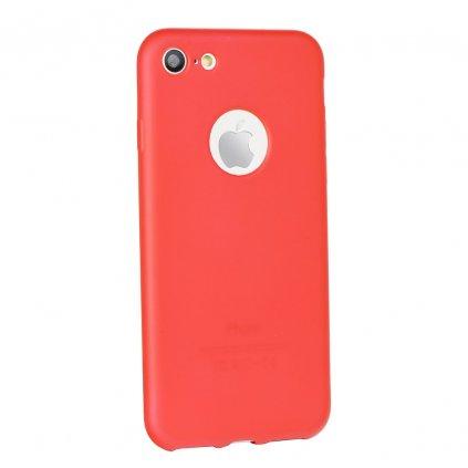 37200 silikonove pouzdro jelly case flash mat pro apple iphone 5 cervene