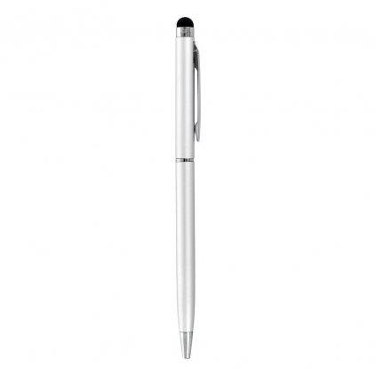 20101 1 stylus pro kapacitni dotyky s kulickovym perem silver