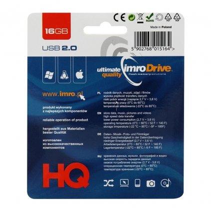 29773 1 usb flash disk pendrive imro 16gb blister black