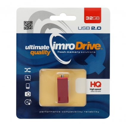 20986 2 usb flash disk pendrive imro edge 32gb blister