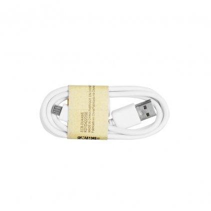 USB Kabel A-B (micro), 1m - bílý