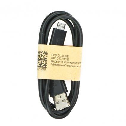 USB Kabel A-B (micro), 1m - černý