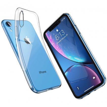 87558 3 pouzdro back case ultra slim 0 3mm apple iphone xr 6 1 transparentni