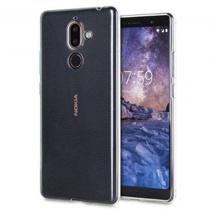 87678 3 pouzdro back case ultra slim 0 3mm nokia 7 plus transparentni