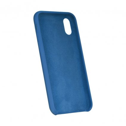 90036 3 pouzdro forcell soft touch silicone apple iphone 5 5s 5 se modre