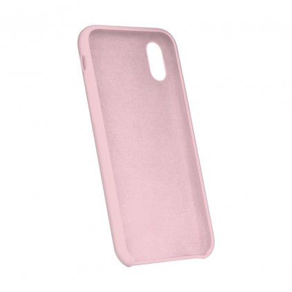 90198 5 pouzdro forcell soft touch silicone apple iphone xs max 6 5 ruzove