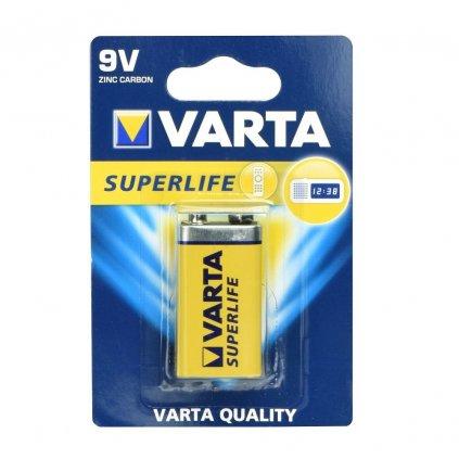 86493 varta superlife zinkouhlikova baterie 9v