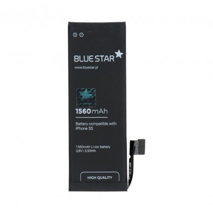 105307 2 baterie apple iphone 5s 1560 mah polymer blue star hq