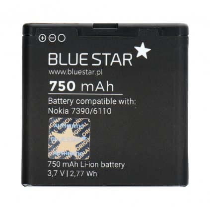 86268 3 baterie nokia 7390 6110 navigator 8600 luna 6500 slide 5610 750 mah li ion blue star