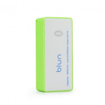 86361 externi baterie blun power bank 5600 mah limonka