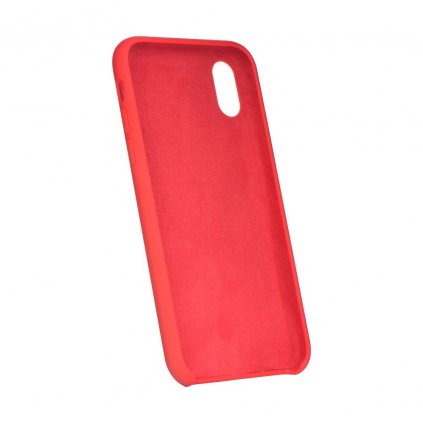 107624 1 pouzdro forcell soft touch silicone apple iphone 6 6s cervene