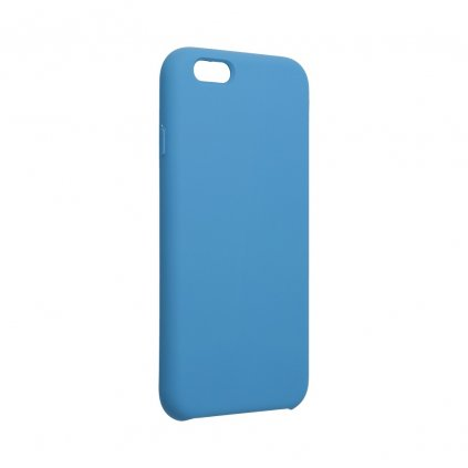 107612 pouzdro forcell soft touch silicone apple iphone 6 6s modre