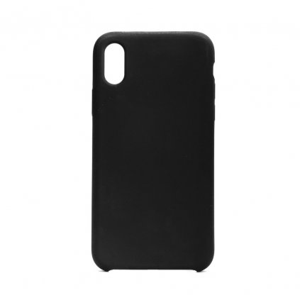 107597 pouzdro forcell soft touch silicone apple iphone x cerne