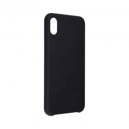 107564 2 pouzdro forcell soft touch silicone apple iphone xr 6 1 cerne