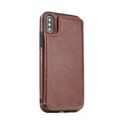 108542 pouzdro forcell wallet case huawei mate 20 lite hnede