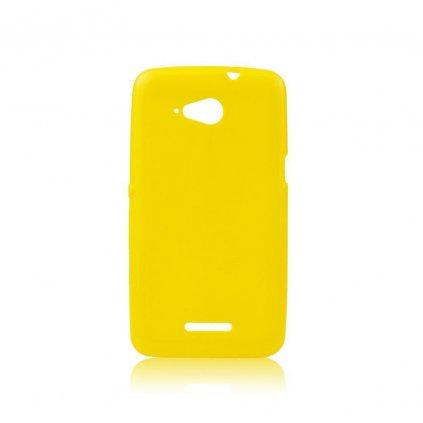 pouzdro jelly case ultra slim 0 3mm xperia e4g e2003 4 7 zlute w1200 cfff
