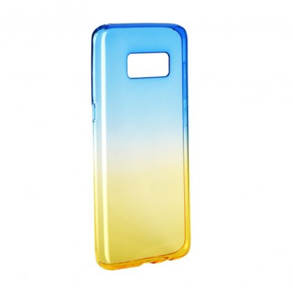 62213 pouzdro silikon forcell ombre samsung galaxy s8 modro zlate