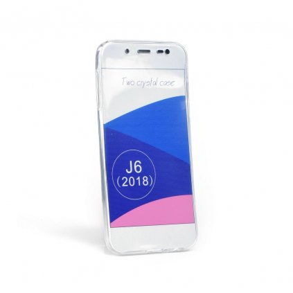 87468 pouzdro 360 ultra slim predni zadni samsung galaxy j6 2018 transparent