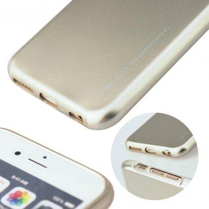 112268 3 pouzdro i jelly mercury goospery pro apple iphone x xs s vyrezem na logo zlato ruzove